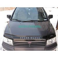 Дефлектор капота мухобойка Mitsubishi Space Wagon с 1997–2003 г.в.