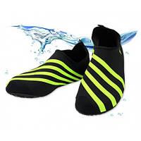 Обувь Actos Skin Shoes (разм. 45-45.5) Green / Обувь для плавания / Обувь для спорта / Чешки для йоги / опт, фото 1