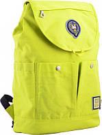 Стильный молодежный рюкзак OX 414, салатовый, фото 1