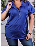 Блуза женская батальная, фото 1