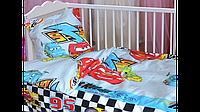 Детское постельное белье в кроватку для новорожденных для мальчика машинка,тачки,маквин