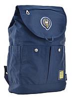 Стильный рюкзак молодежный OX 414,  синий