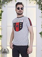 Футболка мужская Gucci турция 1142 рус