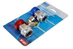 Быстроразъемные соединения с обратным клапаном в комплект кондиционера