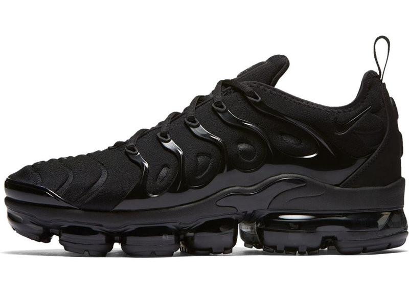 15794b9b Мужские кроссовки Nike Air VaporMax Plus Black - купить по лучшей ...