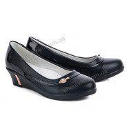 Туфли черные  размер  32-37