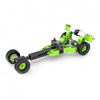 Конструктор серии STEM HEROES - Спортивные автомобили: драгстер