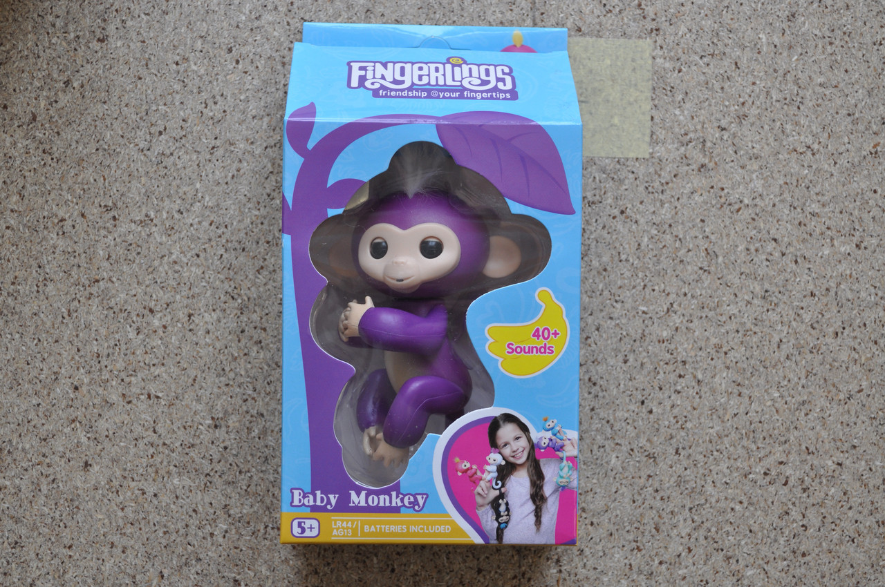 Интерактивная обезьянка Fingerlings monkey OPT