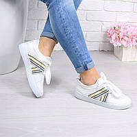 Кеды женские George белые 4528, кеды женские осенняя обувь