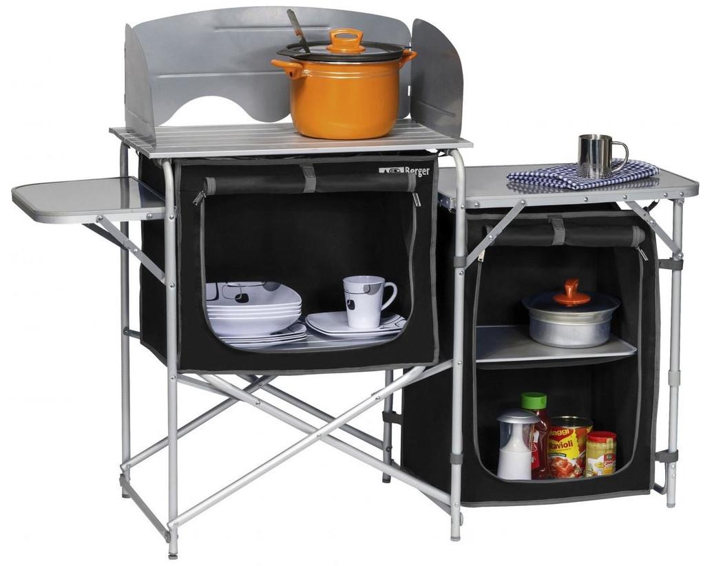 Туристический набор кухонной мебели  BERGER