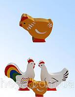 Фигурка Цыпленок цветной, фото 1