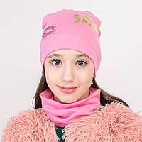 Хлопковый комплект для девочки на весну оптом - Артикул 2238