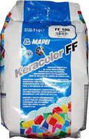 Затирка для  швов цементная 5 кг, KERACOLOR FF Mapei