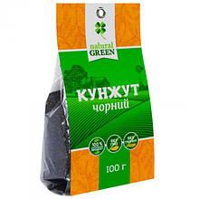 Кунжут черный, NATURAL GREEN 100г