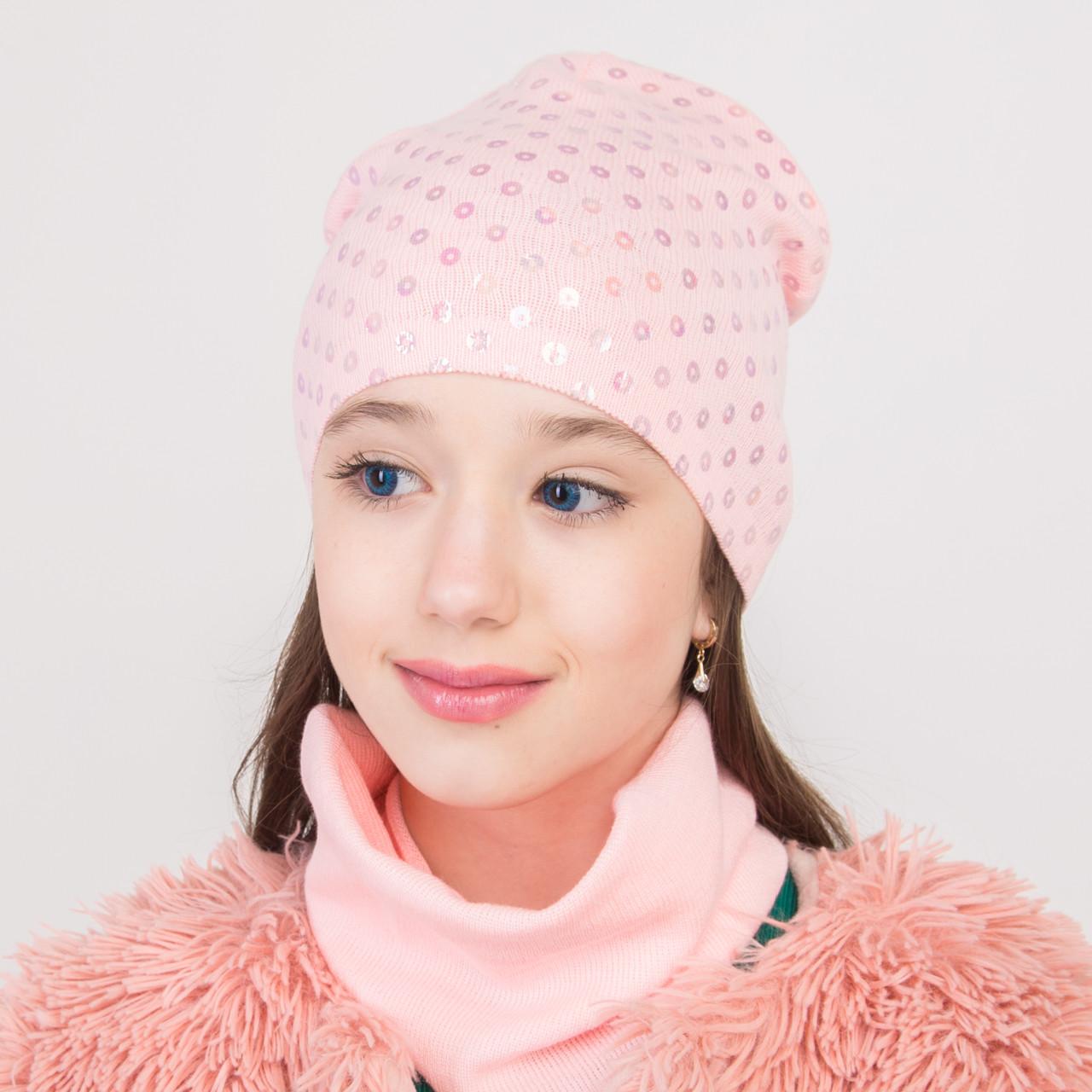 Весенний комплект с пайетками для девочки оптом - Артикул 2266