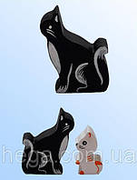 Фигурка Кошечка цветная, фото 1