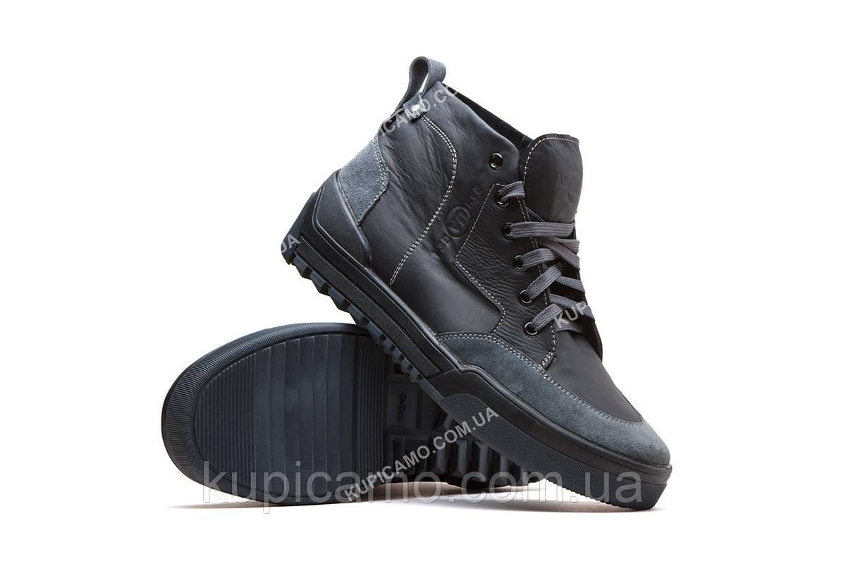 """Ботинки демисезонные """"RANGER"""" черный/серый"""