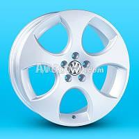 Литые диски Replica Skoda (A-R163) R17 W7 PCD5x100 ET40 DIA57.1 (silver)