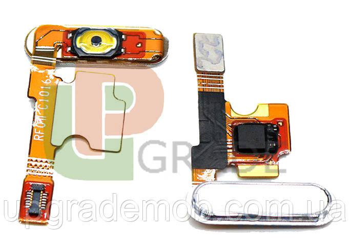 Шлейф Xiaomi Mi5 с кнопкой меню Home белого цвета