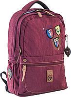 Стильный подростковый рюкзак OX 194, бордовый