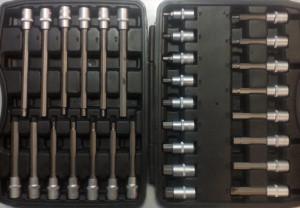 Набор бит 30 предметов 1-E1020 Ampro