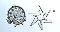 Мотор (двигатель) конвекции для плиты универсальный Plaset Cod. 56471 30W 27000088.В сборе с крыльчаткой.