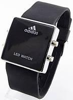 Наручные часы LED, черные, фото 1