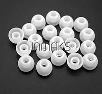 Амбушюры поролонки белые силикон #100270