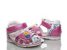Деткие босоножки для девочки, с 21 по 26 размер, 8 пар, ТМ MLV