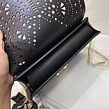 Cумка, клатч Фурла Метрополис Болеро натуральная кожа цвет черный, новинка 2018, реплика, фото 3