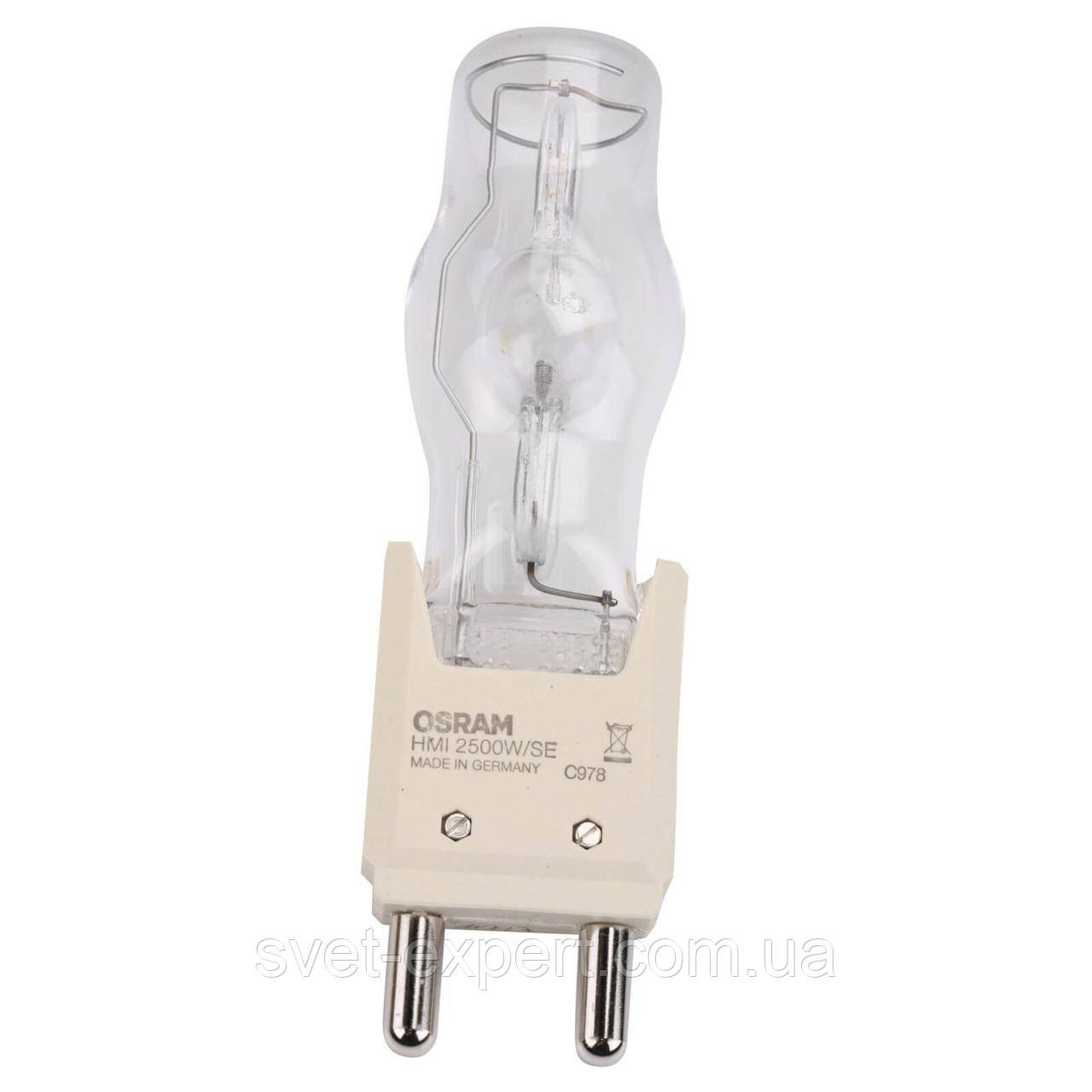 Лампа HMI 2500W/SE XS 2500Вт 6000K° 500ч 115В G38 1x1 OSRAM