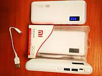 Акция! Повербанк PowerBank Xiaomi Mi 20000mAh. 2USB.Мощный фонарь!