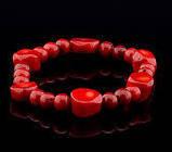 Браслет Коралл красный натуральный Египет