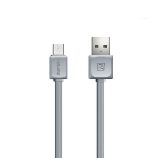 MicroUSB кабель Remax Fast Data RC-008m 1m grey