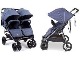 Прогулянкова коляска для двійні Valco Baby SNAP DUO DENIM