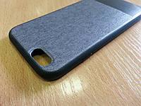 """Ультратонкий силиконовый чехол для iphone 7 """"Джинс"""""""