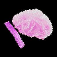 Шапочка Шарлотта одноразовая. Цвет розовый ( цена указана за 1 шт)