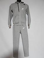 Теплый мужской спортивный костюм Nike реплика р.46 002TMK