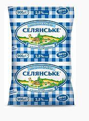 Самовывоз Молоко Селянське 0,9мл, 2,5%