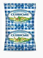 Молоко Селянське 0,9мл, 2,5%