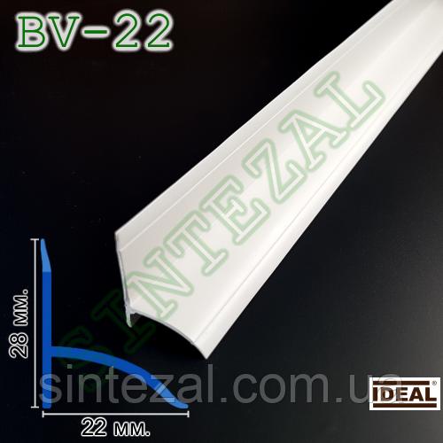 Пластиковый плинтус для ванны IDEAL BV-22