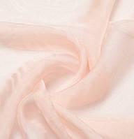 Шелковый шарф цвета нюд