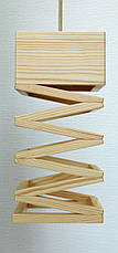 Люстра лофт из дерева SPRING, фото 3