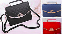 Женская сумка клатч с ручкой через плечо Crown
