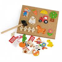 Набор для творчества Viga Toys Ферма (51606)