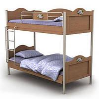 Двухъярусная кровать An-12 Angel вишня