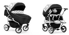 Многофункциональная коляска для двойни ELCAR DUET HAVANA 2в1 63 цвета