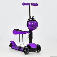 Детский самокат Best Scooter 2в1 беговел 1070
