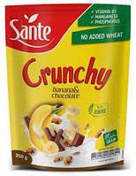 Кранчи (мюсли) Crunchy ( банан с шоколадом) Польша 350г