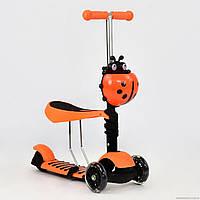 Детский самокат Best Scooter 2в1 беговел 1080